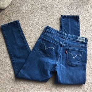 LEVI'S MID RISE SKINNY SIZE 10 P WOMEN'S JEANS